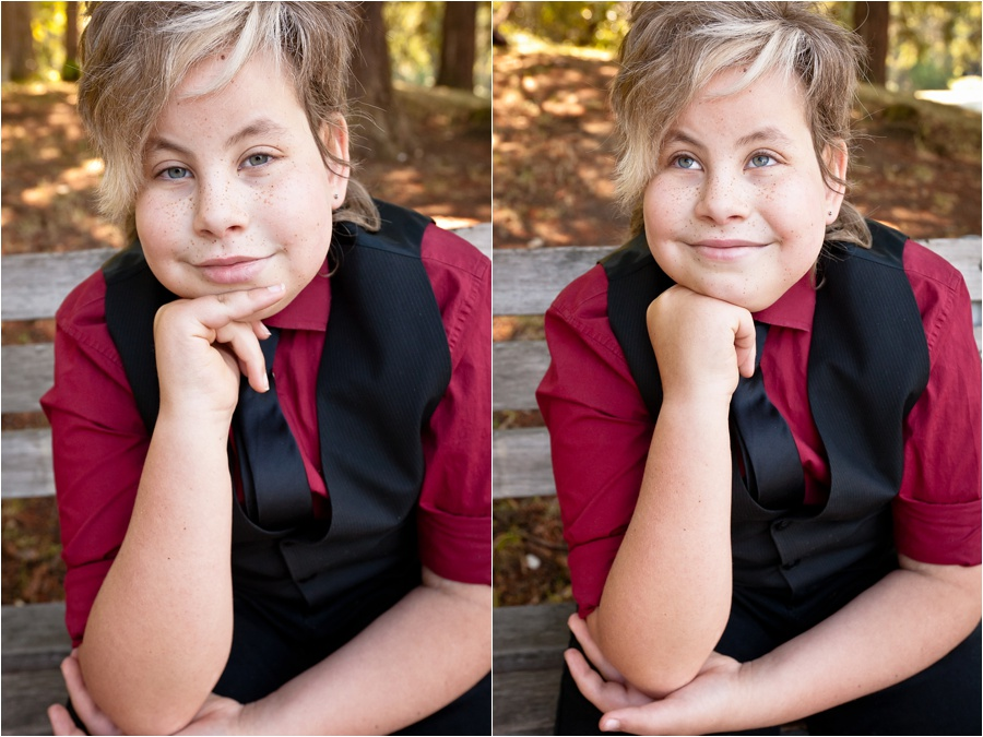 photo session for child with cancer