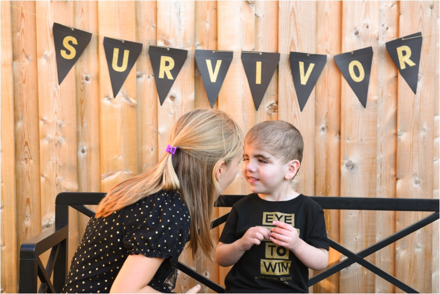 free professional photography for childhood cancer patients