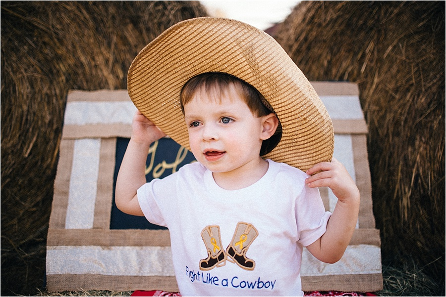 Meet Colton – Retinoblastoma