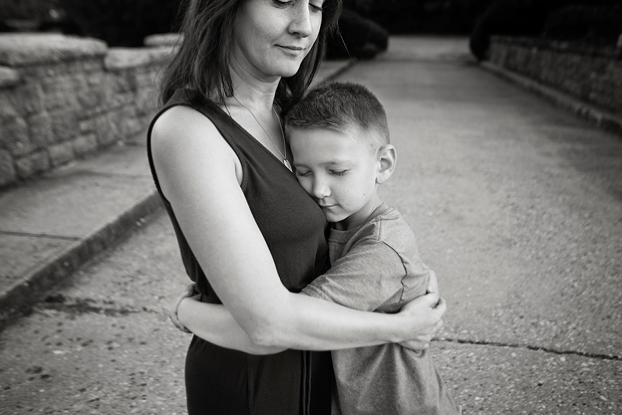 Luxe Art Images mother holding son with cancer photo by The Gold Hope Project