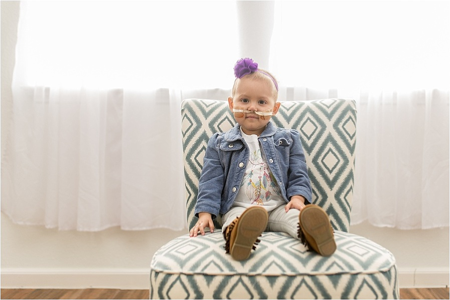 CHILDHOOD LEUKEMIA patient girl with ALL photo by The Gold Hope Project