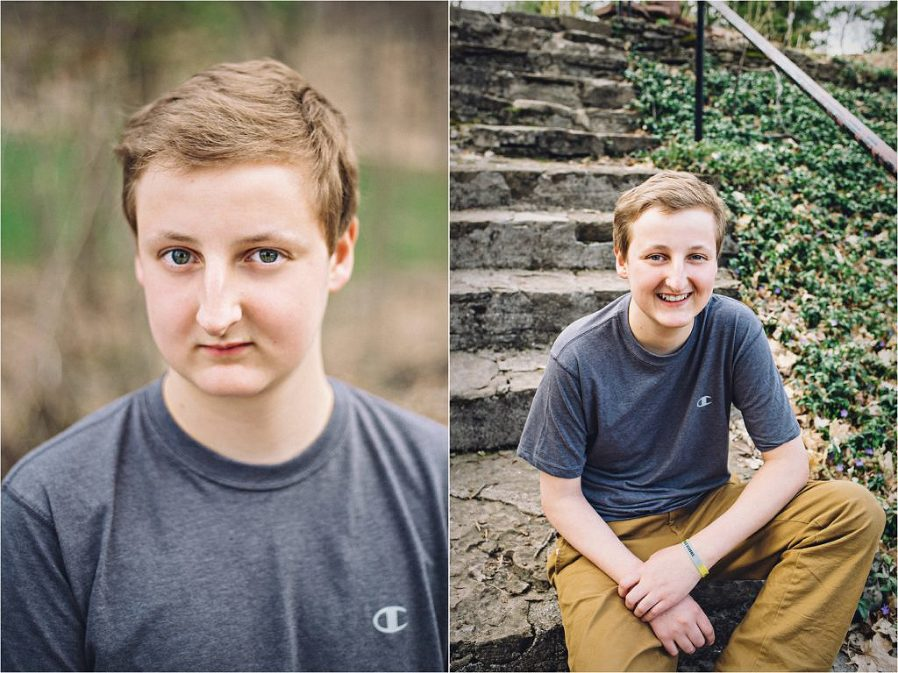 teenager with DIPG tumor photo by The Gold Hope Project
