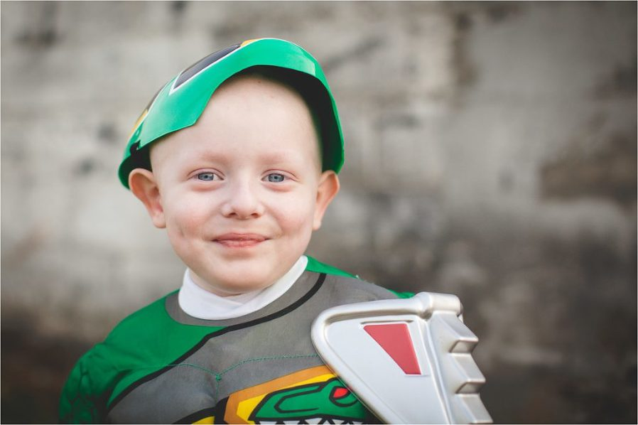 boy with wilms tumor smiling photo by The Gold Hope Project